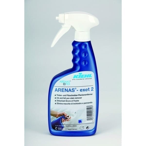 KIEHL ARENAS®-exet 2  500 ml Odpl. do tkanin białych i kolorowych – atrament, ślady po mazakach